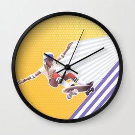 Shred like a Girl Wall Clock