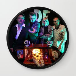Das Fenster & the Alibis Band Photo Wall Clock
