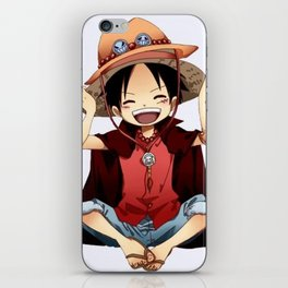 Luffy iPhone Skin