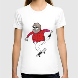 On how to overcome certain obstacles while skateboarding T-shirt