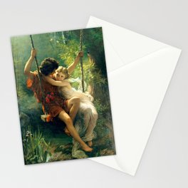 Spring by Pierre Auguste Cot Stationery Cards
