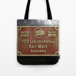 VEB Lokomotivbau Karl Marx, Babelsberg Tote Bag