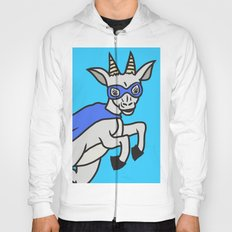 The Mighty Flash Goat Hoody