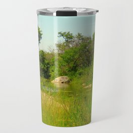 """A Walk on the Wild Side (vii)"" by ICA PAVON Travel Mug"