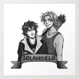 Solangelo Art Print