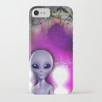 aliens iPhone & iPod Cases featuring Aliens by Aisling Rowland