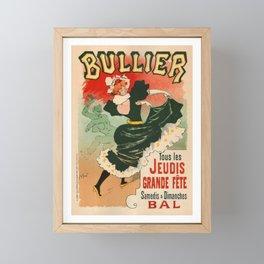 Bullier Theatre Poster Framed Mini Art Print