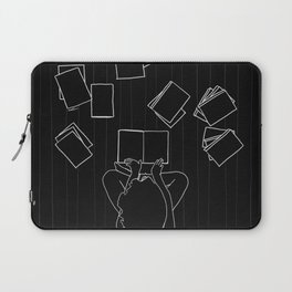 Avid book lover Laptop Sleeve