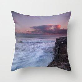 Another Cobb Sunset Throw Pillow