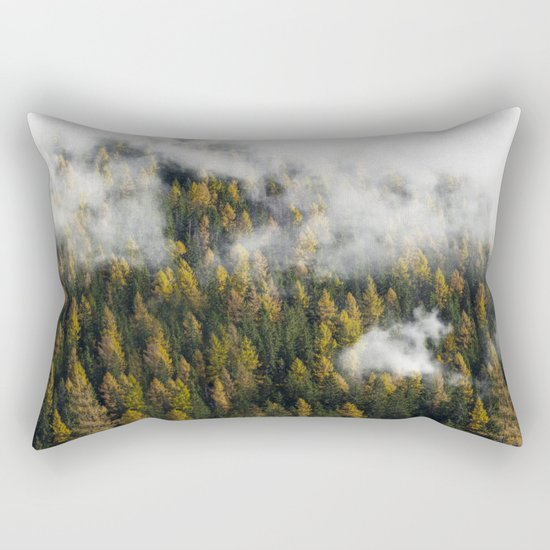 Wander Like A Bird Rectangular Pillow