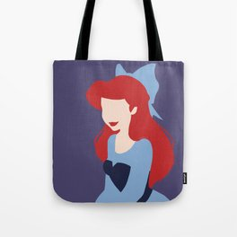 Minimalist princess series: Ariel Tote Bag