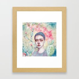 End of the Past Framed Art Print