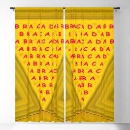 The magic word Blackout Curtain
