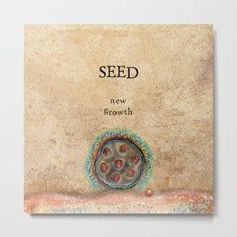Seed Metal Print