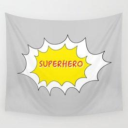 SUPERHERO Wall Tapestry