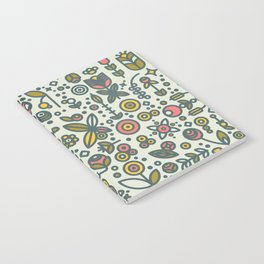 36dot Flower Garden Notebook