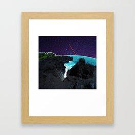 Stars in Wai' anapanapa Framed Art Print