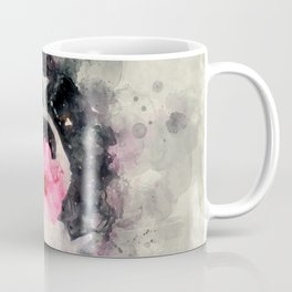 Dog with Flower Coffee Mug