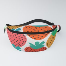 Funny strawberries Fanny Pack
