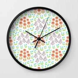 Rudbeckia Wall Clock