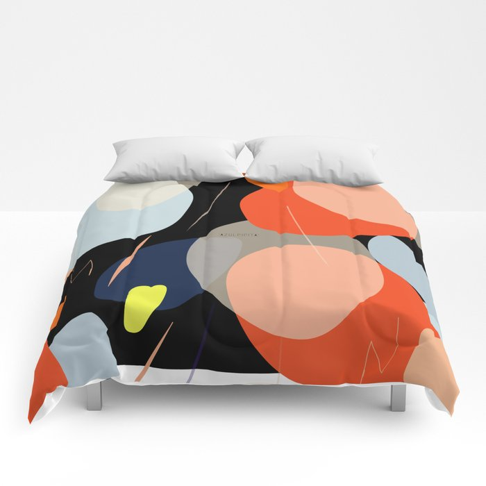 Stain pattern design Comforters