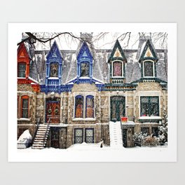 The Enchanting Winter Art Print
