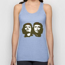 Che Guevara and the woman he loved Unisex Tank Top