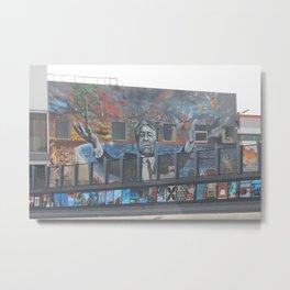 Franco Cozzo Grafitti Metal Print