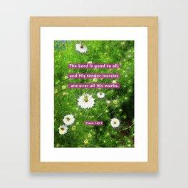 Tender Mercies Framed Art Print