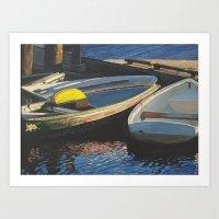 Abstract Brights Art Print
