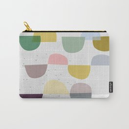 Mid century temporary art VIII Carry-All Pouch