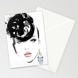 Fashion Painting #6 Stationery Cards