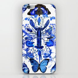 Ultramarine (pattern) iPhone Skin