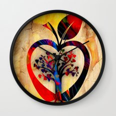 Apple Tree Wall Clock