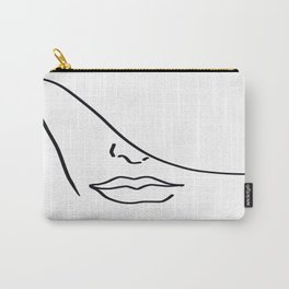 Face and lips Carry-All Pouch