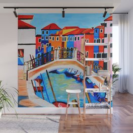 Colors of Venice Italy Wall Mural