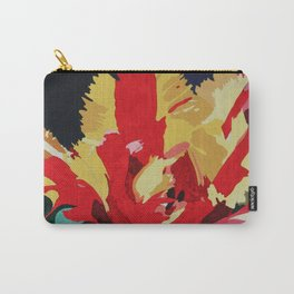 Parrot Tulip Abstract Carry-All Pouch