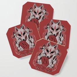 MKI LUCKY KITSUNE Coaster