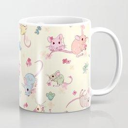 Desert Mices Pastel Coffee Mug