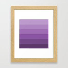 Lavender Dreams - Color Therapy Framed Art Print