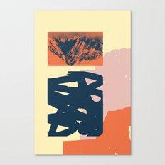Malvarma Montoj Canvas Print