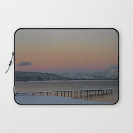 Back Porch View Laptop Sleeve