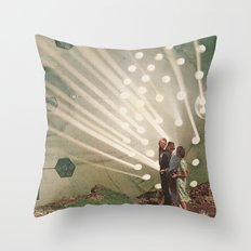 the light pours out of me Throw Pillow
