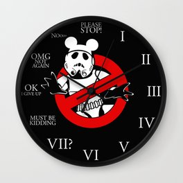 CLONEBUSTERS the movie Wall Clock