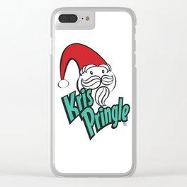Kris Pringle Clear iPhone Case