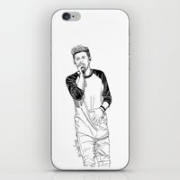 niall iPhone & iPod Skins featuring niall by otp-hedgefrog