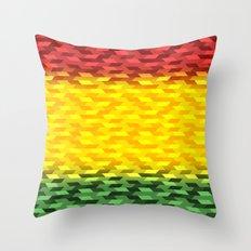 Reggae Vibration Throw Pillow