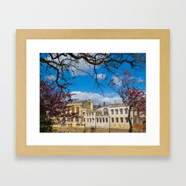 York City Guildhall river Ouse Framed Art Print