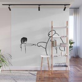 Fistbump! Wall Mural