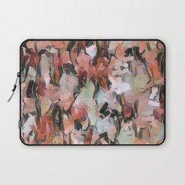 Abstract Confetti Landscape Peach Laptop Sleeve